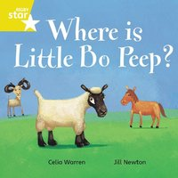 bokomslag Rigby Star Independent Yellow Reader 7 Where is Little Bo Peep?