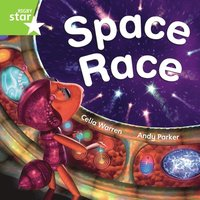 bokomslag Rigby Star Independent Green Reader 3 Space Race