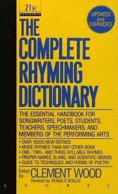 bokomslag Complete Rhyming Dictionary