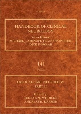 bokomslag Critical care neurology part ii - neurology of critical illness