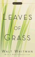 Leaves of Grass 1