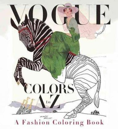 bokomslag Vogue Coloring Book