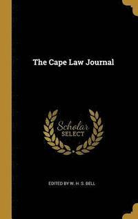 bokomslag The Cape Law Journal