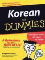 bokomslag Korean For Dummies
