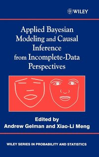 bokomslag Applied Bayesian Modeling and Causal Inference from Incomplete-Data Perspectives