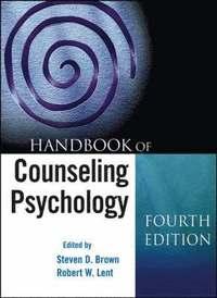 bokomslag Handbook of Counseling Psychology