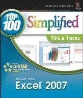 bokomslag Microsoft Office Excel 2007 - Top 100 Simplified Tips and Tricks