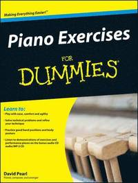 bokomslag Piano Exercises For Dummies