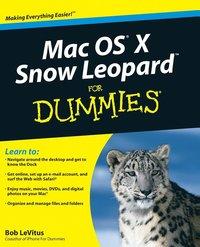 bokomslag Mac OS X Snow Leopard For Dummies