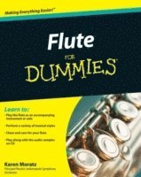 bokomslag Flute For Dummies