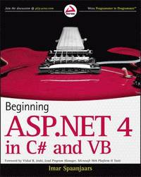 bokomslag Beginning ASP.NET 4 in C# and VB