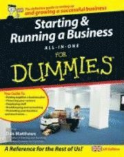 bokomslag Starting and Running a Business All-in-One For Dummies