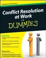 bokomslag Conflict Resolution at Work For Dummies