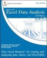 bokomslag Excel Data Analysis: Your Visual Blueprint for Creating and Analyzing Data, Charts and PivotTables 3rd Edition
