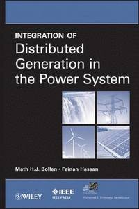 bokomslag Integration of Distributed Generation in the Power System