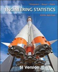 bokomslag Engineering Statistics