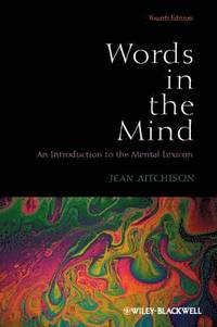 bokomslag Words in the Mind