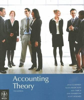 bokomslag Accounting Theory, 7th Edition