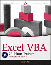 bokomslag Excel VBA 24-Hour Trainer