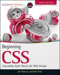 bokomslag Beginning CSS: Cascading Style Sheets for Web Design, 3rd Edition