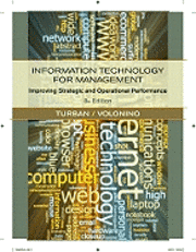 bokomslag Information Technology for Management: Improving Performance in the Digital Economy