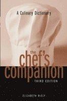 bokomslag A Culinary Dictionary The Chef's Companion, 3rd Edition