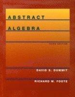 bokomslag Abstract Algebra, 3rd Edition