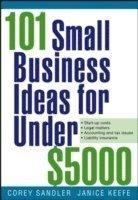 bokomslag 101 Small Business Ideas for Under $5000