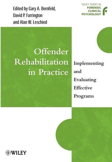 bokomslag Offender Rehabilitation in Practice