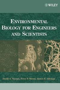 bokomslag Environmental Biology for Engineers and Scientists