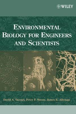 bokomslag Environmental Biology for Engineers and Scientists