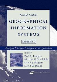 bokomslag Geographical Information Systems