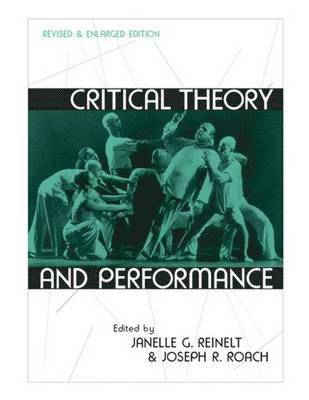 bokomslag Critical Theory and Performance