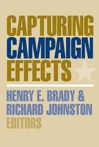 bokomslag Capturing Campaign Effects