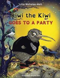bokomslag Riwi the Kiwi: Goes to a Party (Opendyslexic)