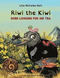 bokomslag Riwi the Kiwi Goes Looking for His Tea (Opendyslexic)
