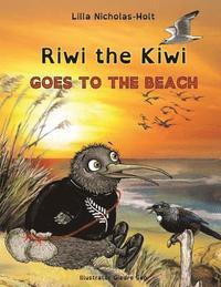 bokomslag Riwi the Kiwi Goes to the Beach (Opendyslexic)