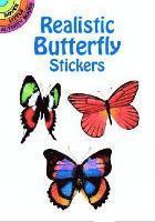 bokomslag Realistic Butterfly Stickers