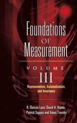 Representation, Axiomatization, and Invariance 1