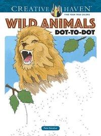 bokomslag Creative Haven Wild Animals Dot-to-Dot