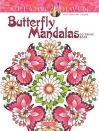 bokomslag Creative Haven Butterfly Mandalas Coloring Book