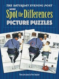 bokomslag Saturday Evening Post MORE Spot the Differences Picture Puzzles
