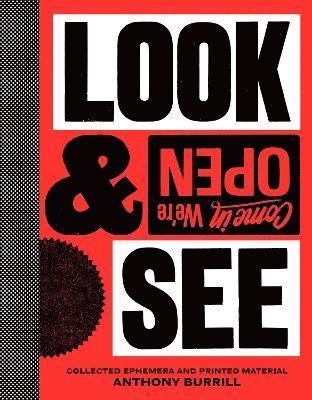 bokomslag Anthony Burrill: Look & See