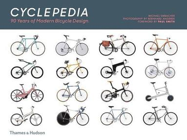 bokomslag Cyclepedia: A Tour of Iconic Bicycle Designs