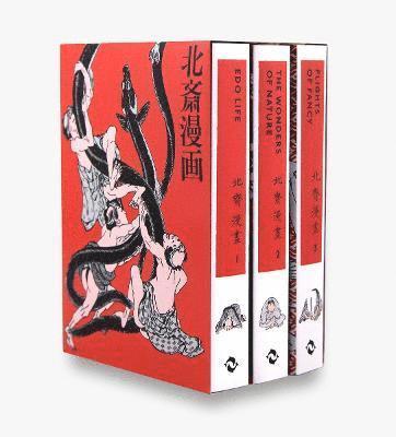 bokomslag Hokusai Manga