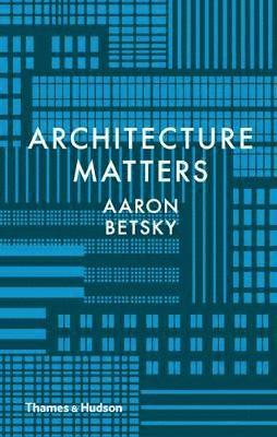 bokomslag Architecture Matters