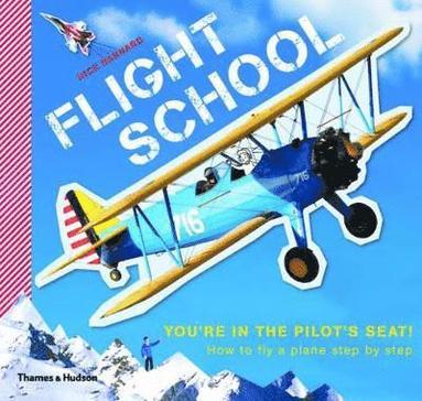 bokomslag Flight school: how to fly a plane step by step
