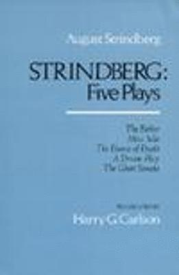 bokomslag Strindberg - five plays