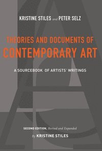 bokomslag Theories and Documents of Contemporary Art
