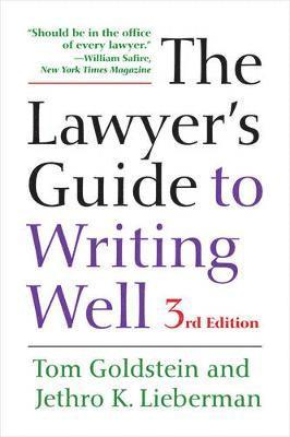 bokomslag The Lawyer's Guide to Writing Well